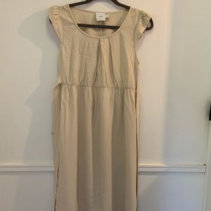 Maternity dress ASOS cream color size 6